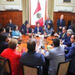 Salaverry convoca a Junta de Portavoces para el 7 de enero
