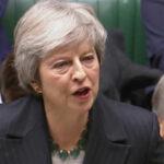 May presentará este lunes el plan B del Brexit ante Cámara de Comunes para sumar apoyos