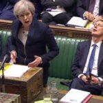 """May pide apoyo a su pacto para evitar que los diputados frustren el """"brexit"""""""