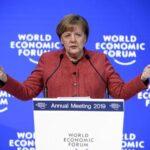 Merkel defiende en Davos el multilateralismo y la búsqueda de compromisos