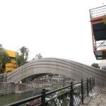 Innovador puente de 15 metros impreso en 3D erigen en China