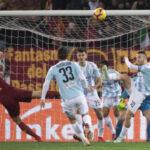 Copa Italia: El Roma avanza a cuartos de final goleando (4-0) al Virtus Entella
