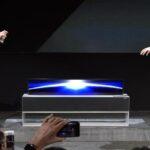LG sacará al mercado este año un televisor que se enrolla sobre sí mismo (video))