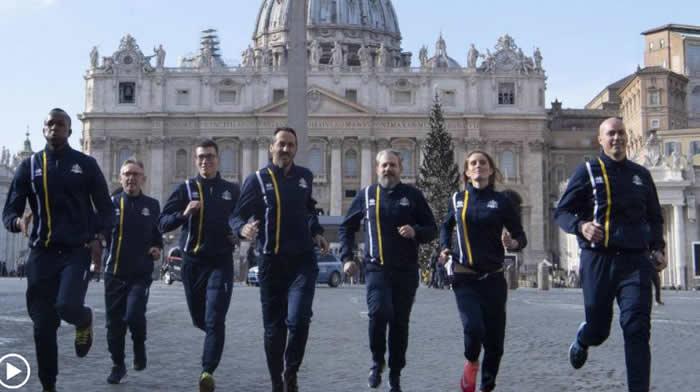 Nace Athletica Vaticana, el primer equipo del Vaticano con curas y monjas