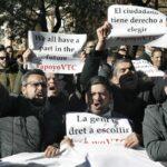 Los taxistas de Madrid intensifican sus protestas contra Uber