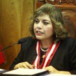 Congreso: Titular del Ministerio Público niega amistad con Vizcarra