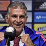 ¿Qué dijo Carlos Queiroz al ser presentado como nuevo entrenador de Colombia?