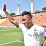 Copa Sudamericana: Santos sin Cueva por expulsión se pierde el partido ante uruguayos