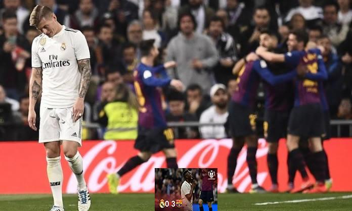 Copa del Rey  Así jugaron los equipistas del choque Barcelona-Real Madrid f8bc5b91faf