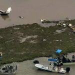 EEUU: Se estrella avión Boeing 767 en costa de Texas