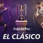 Copa del Rey. Barcelona-Real Madrid juegan mañana un clásico que dejará huella