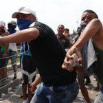 Heridos durante disturbios en frontera Venezuela-Colombia llegan a 285