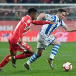 Liga Santander: Girona y Real Sociedad empatan 0-0 y pugnan para salvarse de la baja