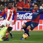 Liga Santander: El Athletic se aleja de la zona de peligro al ganar 1-0 al Huesca