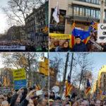 España: Protestas masivas en Cataluña contra el juicio a líderes independentistas (VIDEO)