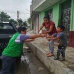 Barranca: Torrencial lluvia deja 27 familias afectadas y otras 6 damnificadas