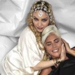 Madonna y Lady Gaga posan juntas y ponen fin a años de supuesta rivalidad