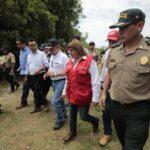Piura: César Villanueva coordinó acciones ante aumento de lluvias