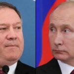 """Secretario de Estado Mike Pompeo afirma que Vladimir Putin """"amenaza a todas las democracias del mundo"""""""
