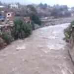 Indeci: Aumento de caudal del río Rímac afectaría viviendas en Chaclacayo