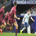 Argentina con Lionel Messi cayó 3-1 con Venezuela en Madrid