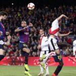 Liga Santander: Barcelona gana 3-1 y hunde más Rayo Vallecano