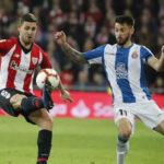 Liga Santander: El Athletic en los minutos finales empata 1-1 con el Espanyol
