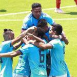 Sporting Cristal golea a placer 4-1 a Universidad César Vallejo por la Liga 1