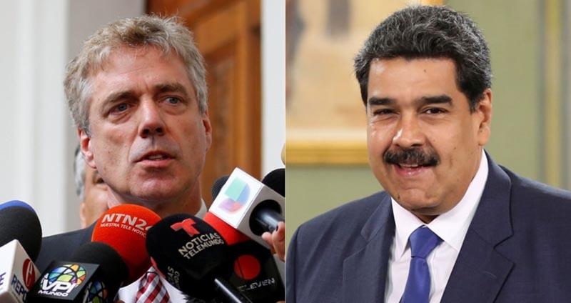 Maduro declara persona non grata a embajador alemán por