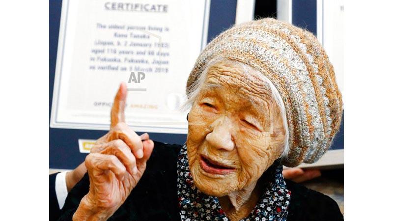 Japonesa de 116 años es la persona más longeva del mundo