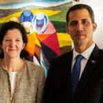 ¿Quién es la poderosa mujer que acompaña a Guaidó en sus viajes (y no es su esposa)?