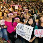ANP presente en marcha de mujeres