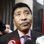Increíble: Mamani pidió anular investigación por tocamientos indebidos