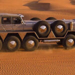 Jeque presenta el vehículo todoterreno más grande y potente del mundo