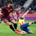 Venezuela en partido amistoso cae 2-1 ante la selección catalana