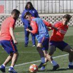Champions: El Atlético de Madrid se concentra en el Juventus pendiente de Godín