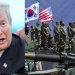 Trump justifica fin de maniobras militares con Corea del Sur por el fuerte gasto que demandan