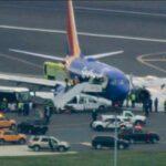 Aterriza por emergencia de fuego un avión en EEUU sin heridos de gravedad