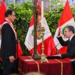 Mira las fotos de la juramentación del nuevo Gabinete (IMÁGENES)