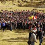 Las Bambas: Comuneros acuerdan desbloquear vía en Manantiales