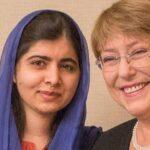 Bachelet y Malala recalcan el peso de la educación en empoderamiento femenino