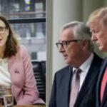 """UE demanda a Trump """"parar"""" tarifas para llegar a un acuerdo y sanar relaciones con China"""
