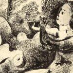 Subastan dibujo inédito de Picasso que revela su pasión por Marie-Thérèse Walter