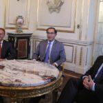 Martín Vizcarra y Salvador Del Solar se reunieron con alcalde de Lima