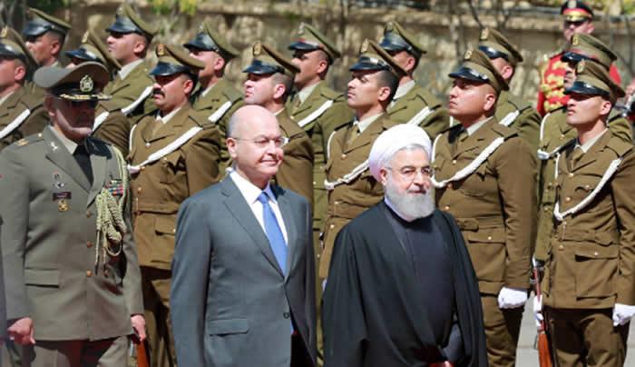 Presidente iraní, en su primera visita a Irak