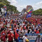 Miles de venezolanos expresan apoyo al gobierno de Nicolás Maduro