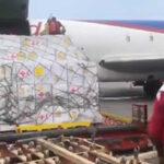 Venezuela: Llegó primer lote de ayuda con generadores eléctricos para hospitales (VIDEO)