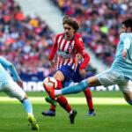 Liga Santander: Atlético de Madrid en la 32ᵃ jornada se impone 2-0 al Celta