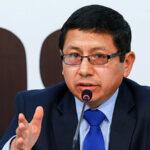 """Ministro Edmer Trujillo: """"No pienso renunciar, no voy a renunciar"""""""