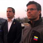"""Guaidó aparece con Leopoldo López y llama a militares acabar con """"usurpación"""" (Video)"""